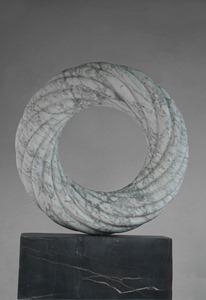 Cilia: Carrara marble, 2020: H 95cm, W 71 cm, D 71 cm; POA