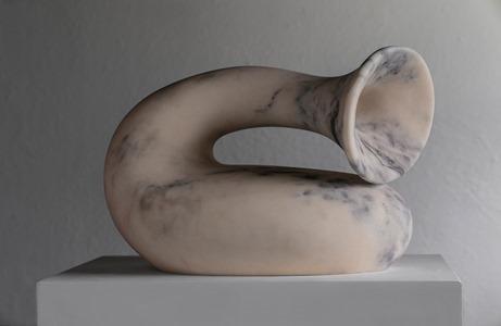 Hiru: PORTUGUESE MARBLE, 2018: W 43cm, H 32 cm, D 25 cm; POA