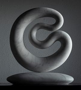 Lacoba: CARRARA MARBLE, 2020: W 36cm, H 45 cm, D 8 cm; SOLD