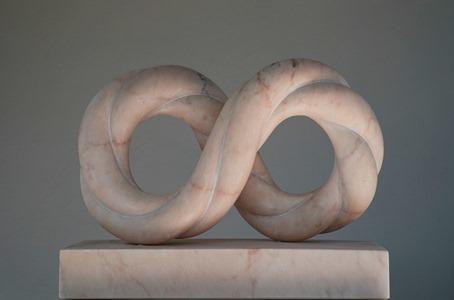 Lobo: Portuguese marble, 2020: H 44cm, W 58 cm, D 16 cm; SOLD