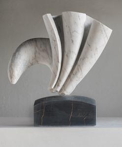 Perisso: CARRARA MARBLE, 2018: W 37 cm, H 39 cm, D 15 cm; £4,500