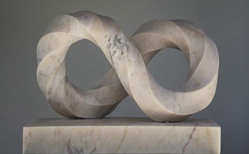 Yaw: Portuguese marble, 2020: H 42cm, W 57 cm, D 24 cm; POA