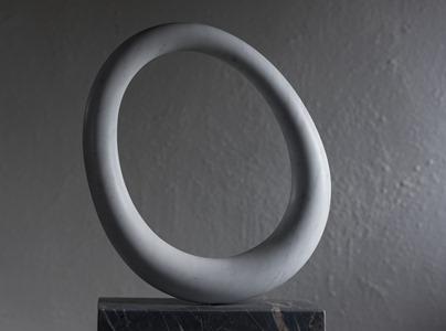 Achill: CARRARA MARBLE, 2016: W 47cm, H 63 cm, D 10 cm; £8,000
