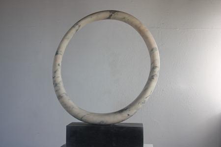 Elias: PORTUGUESE MARBLE, 2016: W 70cm, H 91 cm, D 19 cm; SOLD