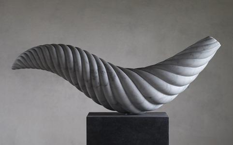 Kotori: CARRARA MARBLE, 2015: W 76cm, H 46 cm, D 19 cm; £6,500