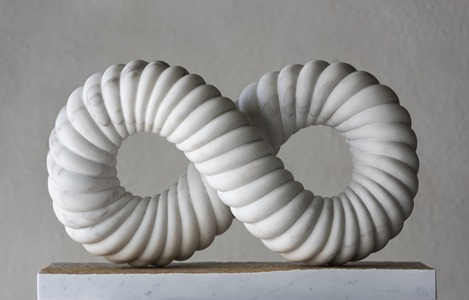 Lunasa: PORTUGUESE MARBLE, 2015: W 58cm, H 38 cm, D 18 cm; SOLD