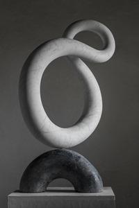 Lyra: CARRARA MARBLE, 2017: W 60cm, H 93 cm, D 29 cm; SOLD