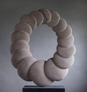 Sable: PORTUGUESE MARBLE, 2015: W 65cm, H 93 cm, D 11 cm; SOLD