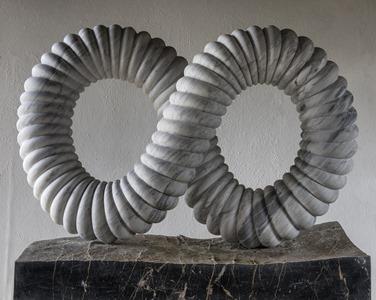 Vanya: CARRARA MARBLE, 2016: W 133cm, H 120 cm, D 40 cm; £27,000