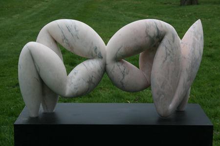 Genus: PORTUGUESE MARBLE, 2011; W 117 cm, H 61 cm, D 31 cm (without base); £16,500