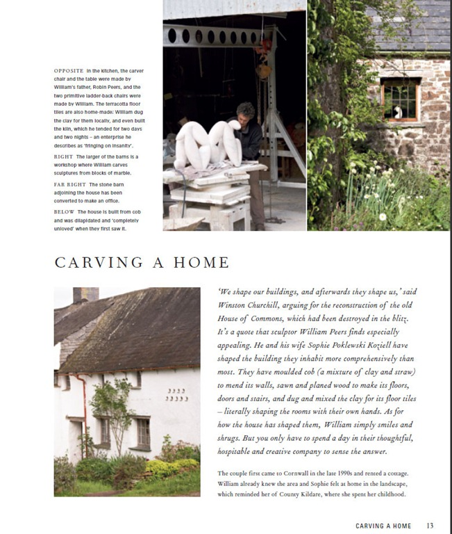 Perfect English Farmhouse, chapter on William Peers