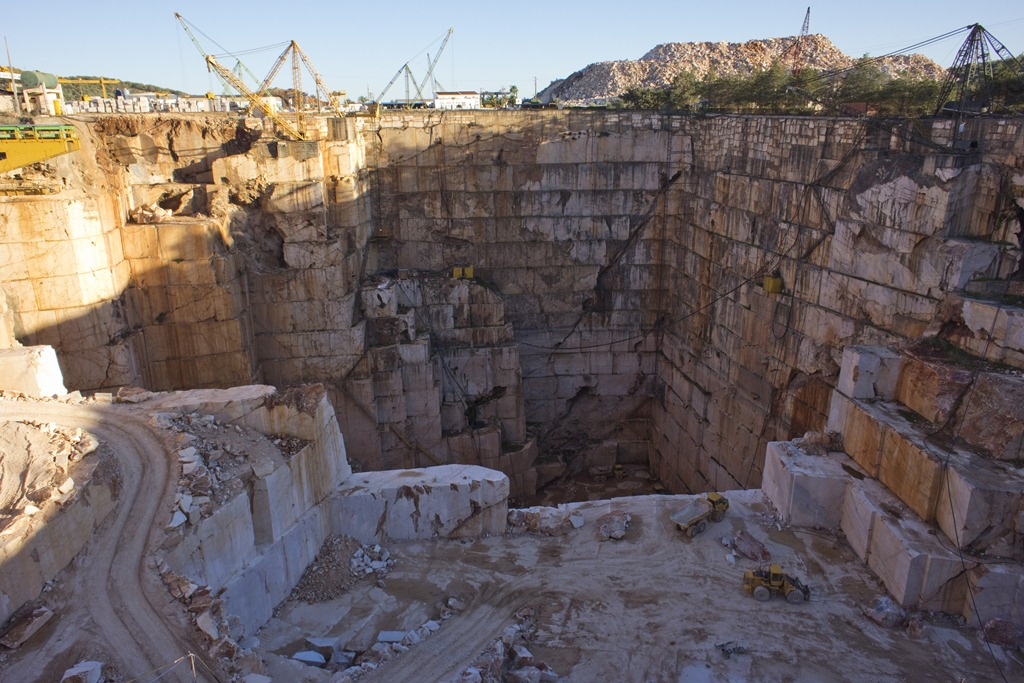 Marble quarry, Estremoz, Portugal. Photo by William Carey