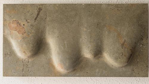 BOSAVA: HORNTON STONE, 2005; W 60 cm, H 30.5 cm; SOLD