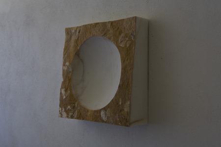HANG: PORTUGUESE MARBLE; 2007; W 38cm, H 77.5 cm, D 5.5 cm; £8,800
