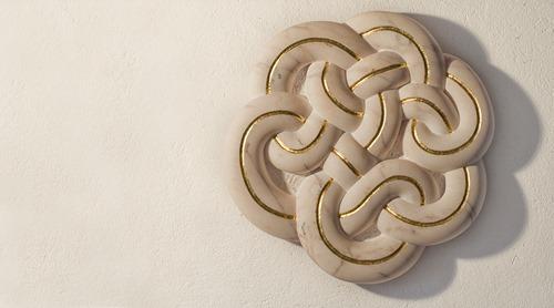 HOKKU: PORTUGUESE MARBLE, 2012: W 66 cm, H 66 cm, D 10 cm; £9,400