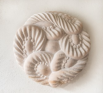 KASEN: PORTUGUESE MARBLE, 2012: W 62 cm, H 62 cm, D 15 cm; £8,200
