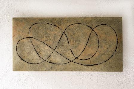 MILYAN: HORNTON STONE, 2005; W 90 cm, H 49 cm; £6,000
