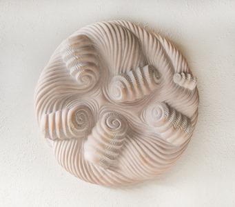 RENGA: PORTUGUESE MARBLE, 2012: W 64 cm, H 624 cm, D 13 cm; £8,200
